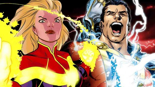 DC超人的商標爭議-沙贊 vs 驚奇隊長